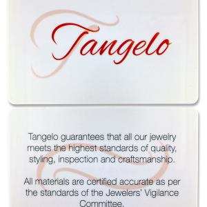 Tangelo 1-3/4 Carat T.G.W. Morganite, White Topaz and Diamond-Accent 14kt Rose Gold Halo Ring