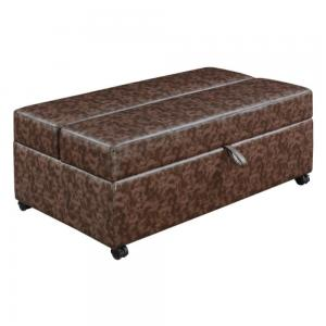 Bench Ottoman with Sleeper and Storage