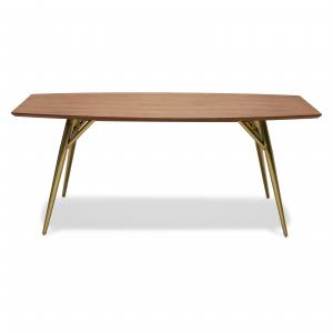 Mid-Century Metal Leg Dining Table by Drew Barrymore Flower Home