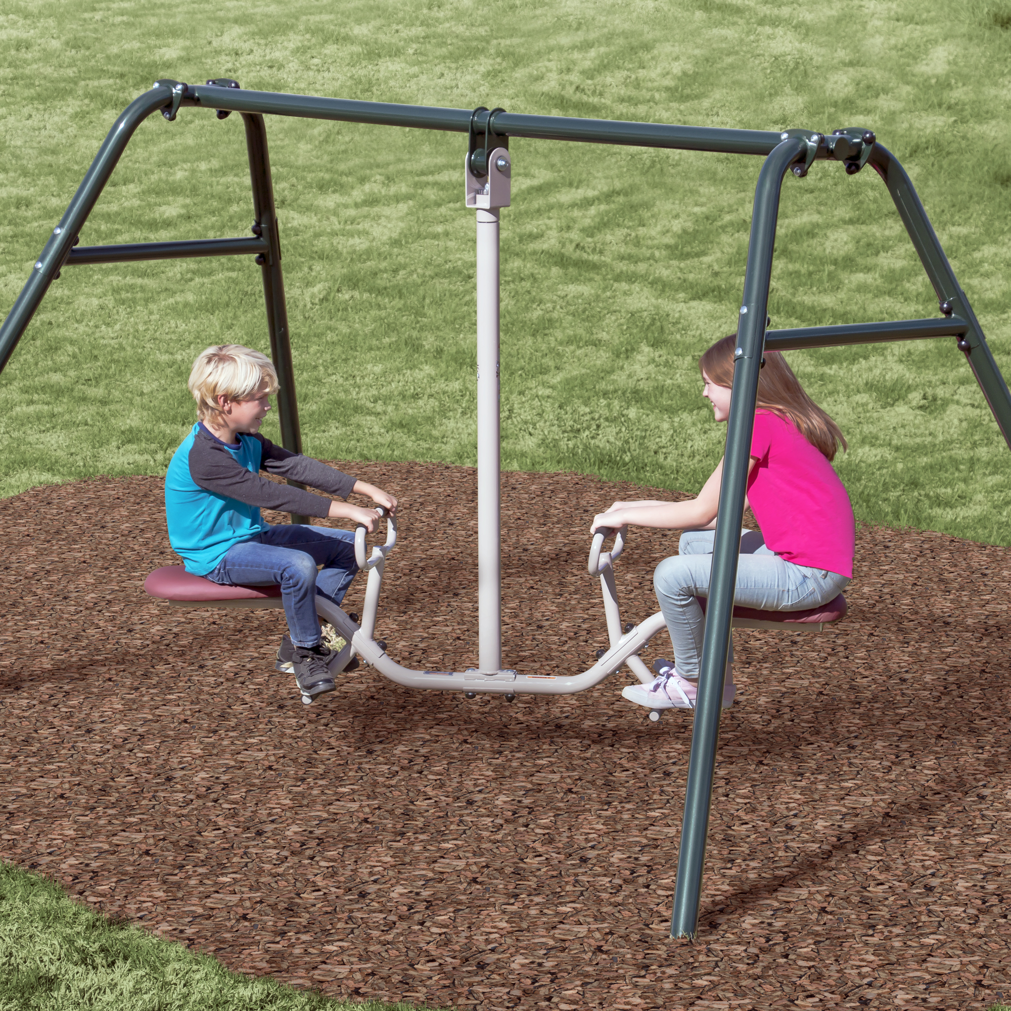 Gym Dandy Tilt-A-Swing Teeter Totter and Seesaw