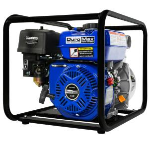 DuroMax Portable 2″ Water Pump 7.0 Hp Gasoline Engine