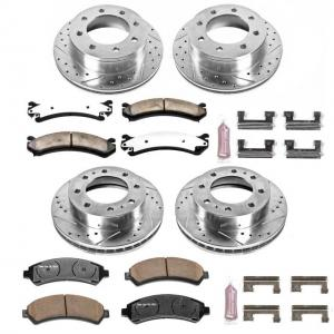 Power Stop Front and Rear Z36 Truck & Tow Brake Kit K2073-36