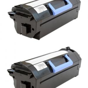 Dell 8XTXR Extra High Yield Toner Cartridge 2-Pack for S5830DN Laser Printer