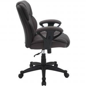 Serta Big & Tall Fabric Manager Office Chair, Supports up to 300 lbs, Gray