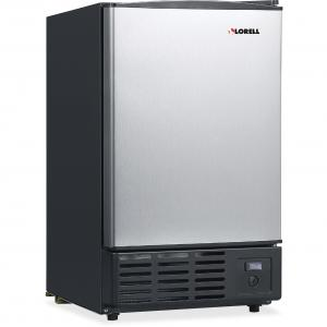 Lorell 19-Liter Stainless Steel Ice Maker, Stainless Steel