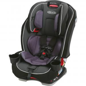 Graco SlimFit All-in-One Convertible Car Seat, Annabelle Purple