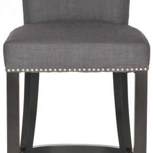 Safavieh Addo Classic Glam Ring Counter Stool with Footrest