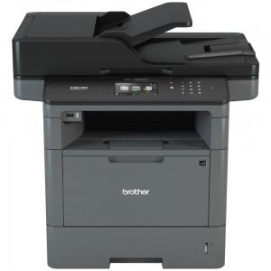 Brother Monochrome Laser Printer, Multifunction Printer and Copier, DCP-L5600DN, Flexible Network Connectivity, Duplex Printing, Mobile Printing
