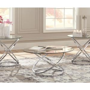 Signature Design by Ashley Hollynyx Living Room Table Set