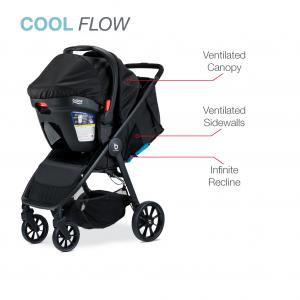 Britax B-Clever & B-Safe 35 Travel System, Cool Flow Teal