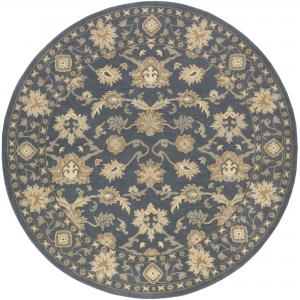 Art of Knot Cicero Blue/Green Traditional 9'9″ Round Area Rug