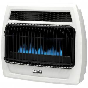 Dyna-Glo BFSS30NGT-2N 30,000 BTU Natural Gas Blue Flame Vent Free Thermostatic Wall Heater