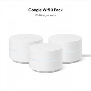 Google Wifi – Whole Home Wi-Fi System – 3-Pack