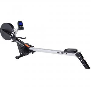 Velocity Foldable Indoor Rower with Heart Rate Monitor