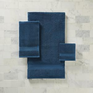 Better Homes & Gardens American Made Bath Collection – Single Bath Towel, Solid Blue