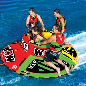 WOW 15-1110 UTO 1 to 5 Rider Starship Inflatable Towable
