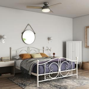 DHP Bombay Metal Bed, Multiple Options Available