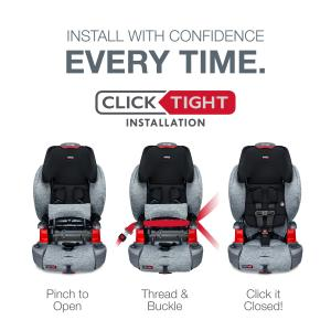 Britax Grow With You ClickTight Harness-2-Booster Car Seat, Spark