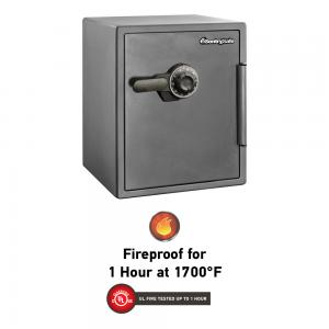 SentrySafe SF205CV Fire-Resistant Safe with Combination Lock, 2.0 Cu. ft.
