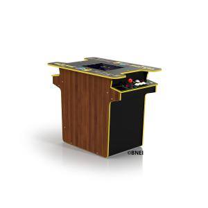 PAC-MAN 40th Anniversary Head-to-Head Arcade Gaming Table, 10 Games in 1, Arcade1UP