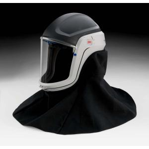 3M? Versaflo? Respiratory Helmet Assembly M-407, with Premium Visor and Flame Resistant Shroud