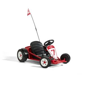 Radio Flyer Ultimate Go-Kart, 24 Volt Outdoor Ride-on Toy, ages 3-8