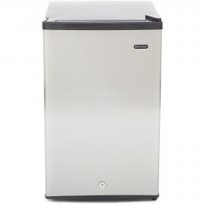 Whynter CUF-210SS Energy Star Stainless Steel Upright Freezer with Lock, 2.1 cu ft
