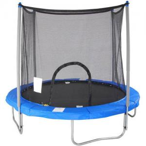 Airzone 8′ Trampoline, with Safety Enclosure, Blue