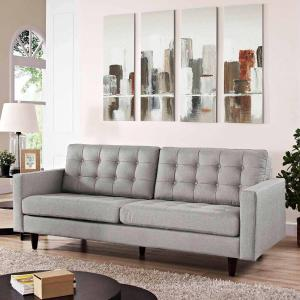 Modway Empress Upholstered Tufted Sofa, Multiple Colors