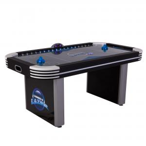 Triumph Lumen-X Lazer 6′ Interactive Air Hockey Table Featuring All-Rail LED Lighting and In-Game Music