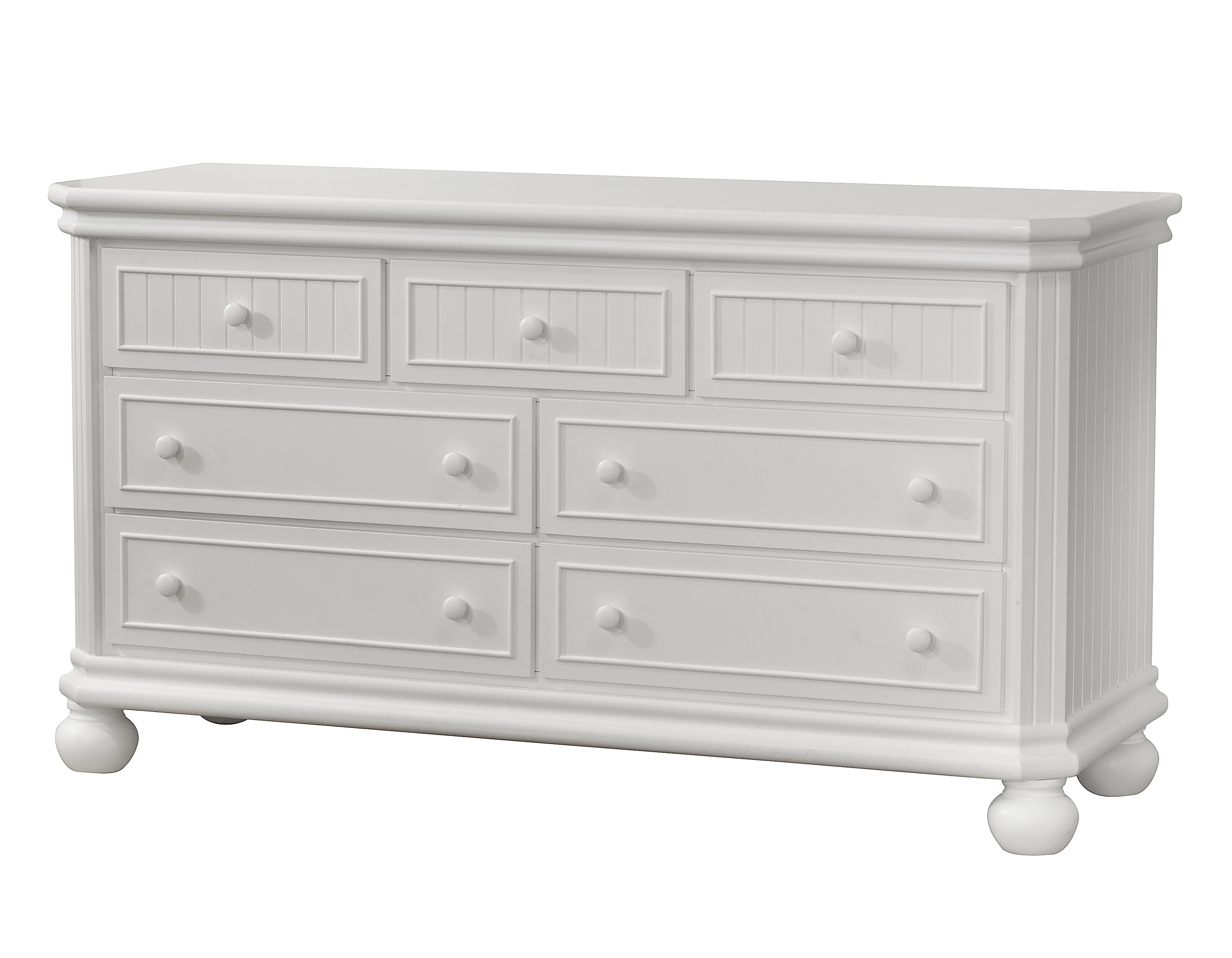 Finley RTA 6 Drawer Double Dresser