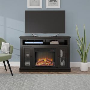 Ameriwood Home Chicago Fireplace Espresso TV Console for TVs up to 50″