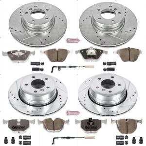 Power Stop Front and Rear Z26 Street Warrior Brake Pad and Rotor Kit K5440-26