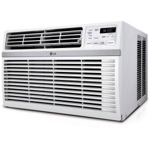 LG 15,000 BTU 115V Window-Mounted Air Conditioner with Remote Control