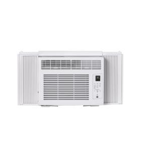 GE 5000 BTU 115-Volt Room Air Conditioner with Remote for Rooms up to 150 sq ft, White, AHW05LZ