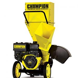Champion 100137 3-Inch Portable Chipper-Shredder with Collection Bag