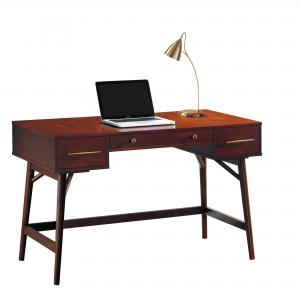 Coaster Company Mid Century Modern Writing Desk, Walnut
