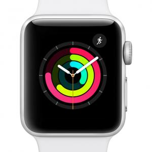 Apple Watch Series 3 GPS – 38mm – Sport Band – Aluminum Case