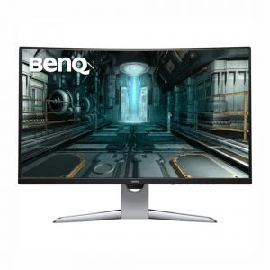 BenQ 31.5″ Curved Gaming Monitor for Sim Racing, Gray