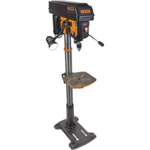 WEN 8.6A Variable Speed Floor Standing Drill Press, 15″