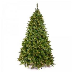Vickerman 9.5′ Cashmere Slim Artificial Christmas Tree with 1000 Warm White LED Lights