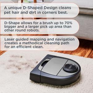 Neato Botvac D7 Wi-Fi Connected Robot Vacuum with Multi-floor plan Mapping