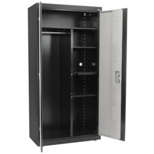 Sandusky 36″L x 18″D x 72″H Steel Combination Cabinet