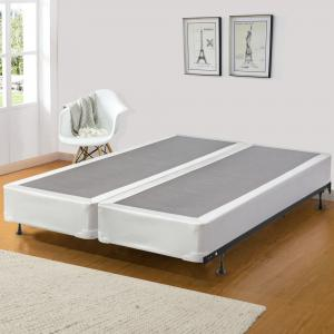 Continental Sleep, 8-Inch Split Metal Box Spring/Foundation For Mattress, Good For Back, No Assembly Required, King Size