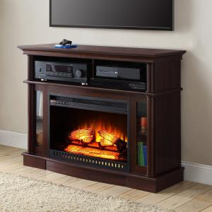 Better Homes and Gardens Ashwood Road Media Fireplace for TVs up to 45″