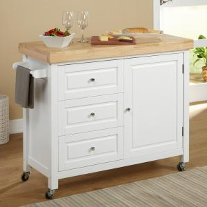 Target Marketing Systems Monterey Kitchen Cart, Espresso
