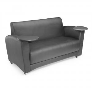 OFM Social Seating Guest Couch with Double Tablet