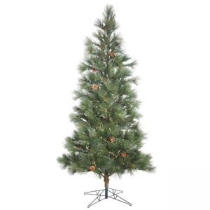 Vickerman 10.5′ Redmond Spruce Artificial Christmas Tree with 1000 Warm White LED Lights