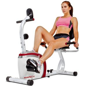 Marcy Magnetic Resistance Stationary Recumbent Exercise Bike