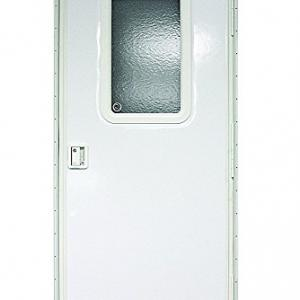 Lippert Components v000149585 Polar White 30 x 72 RV Right Square Entry Door